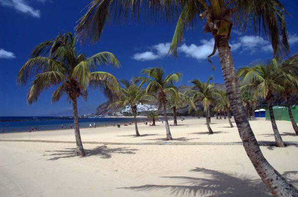 canarie tenerife spiaggia teresitas