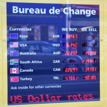 cambio valuta exchange