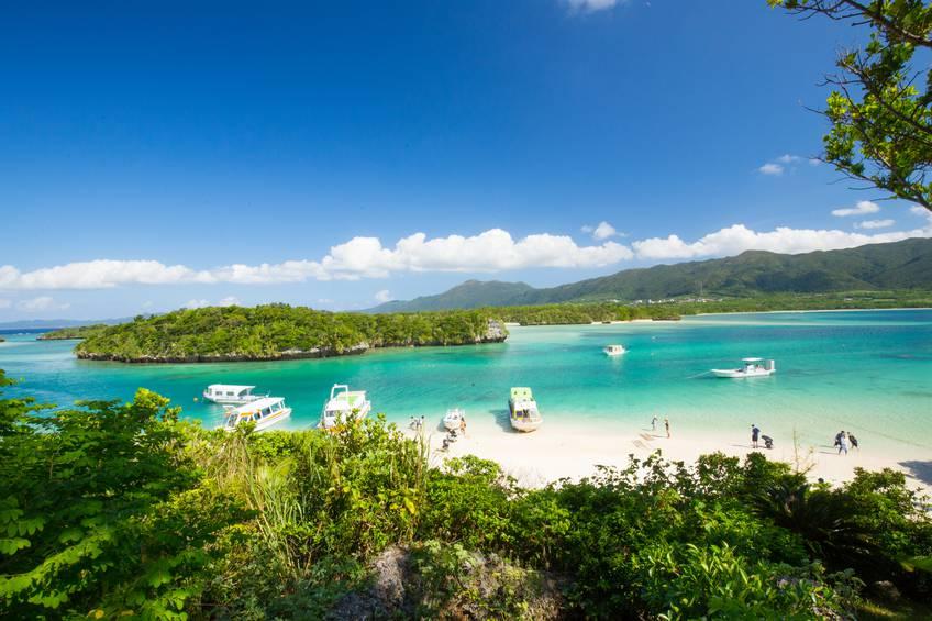 Kabira Bay, Isola di Ishigaki, Giappone