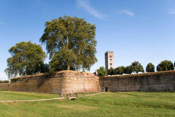 Lucca, mura (iStock)