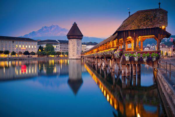 Lucerna, Svizzera (iStock)
