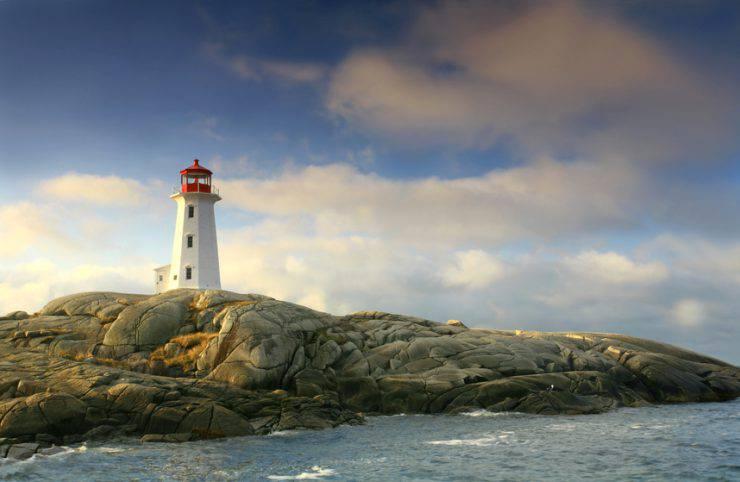 Il faro di Peggy's Cove vciino Halifax, Nuova Scozia (iStock)