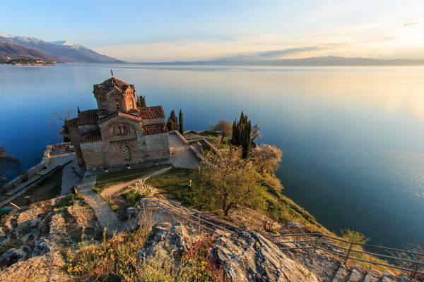 Ohrid, Chiesa di San Giovanni Caneo (iStock)