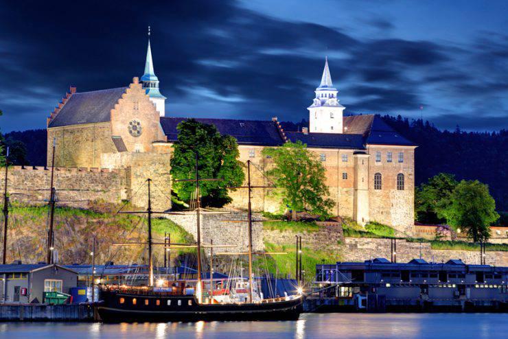 Guida della Norvegia Fortezza di Akershus Oslo