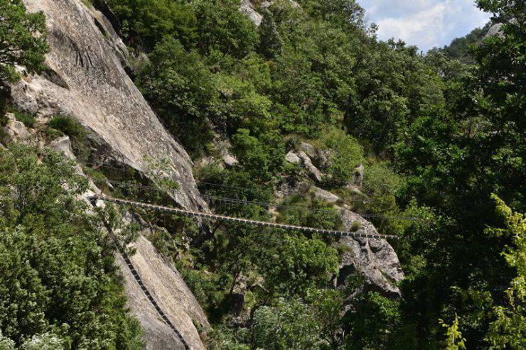 Dolomiti Lucane, Ponte Nepalese (www.ledolomitilucane.com)
