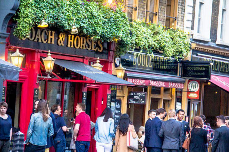 Pub a Covent Garden, Londra (iStock)