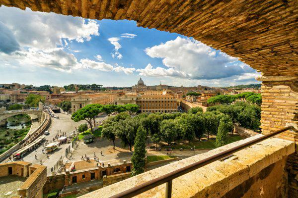 Roma da Castel Sant'Angelo (iStock)