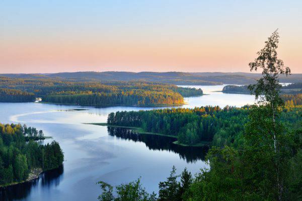 Lago Saimaa (Finlandia)