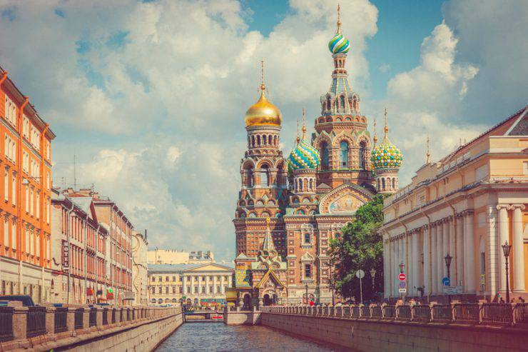 San Pietroburgo, Canale Griboedov (iStock)