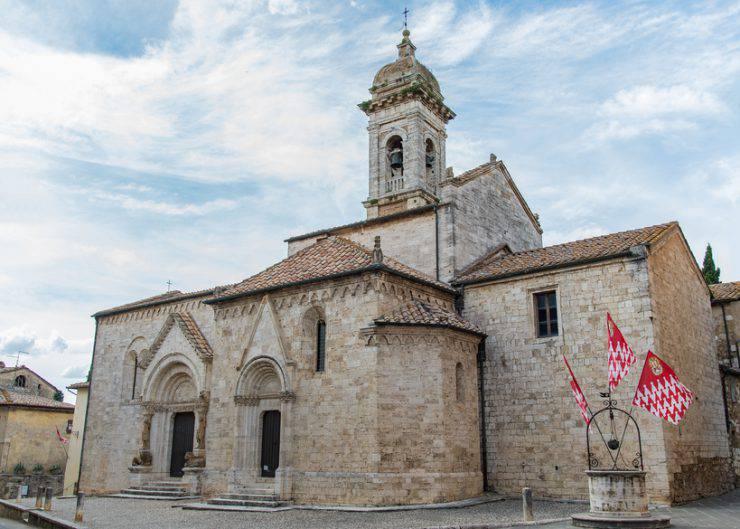 San Quirico d'Orcia, Collegiata dei Santi Quirico e Giulitta (iStock)