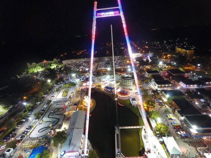 Skycoaster, Fun Spot USA, Kissimmee, Florida (Foto Facebook)