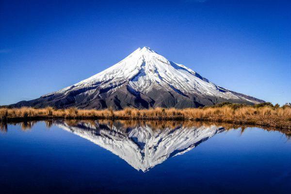 Monte Taranaki (Egmont), Nuova Zelanda (iStock)