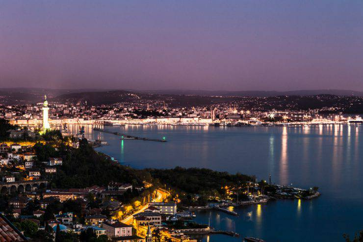 Trieste, porto (iStock)