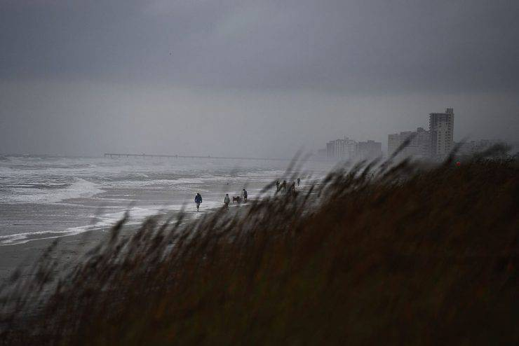 Uragano Matthew: l'attesa in Florida ( JEWEL SAMAD/AFP/Getty Images)