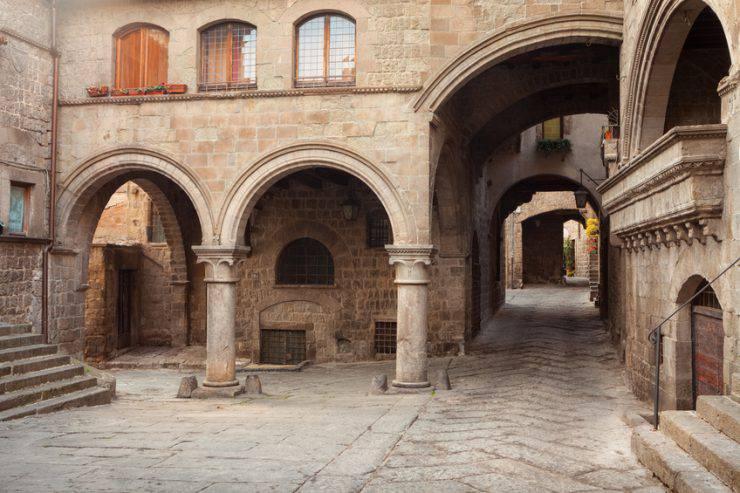 Quartiere medievale di San Pellegrino, Viterbo (iStock)
