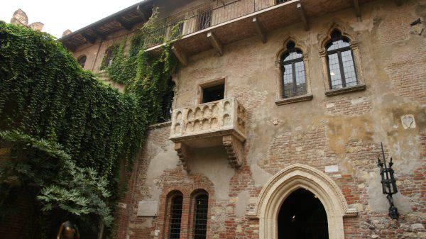 Casa di Giulietta a Verona ( Radu Costel, CC BY-SA 3.0, Wikicommons)