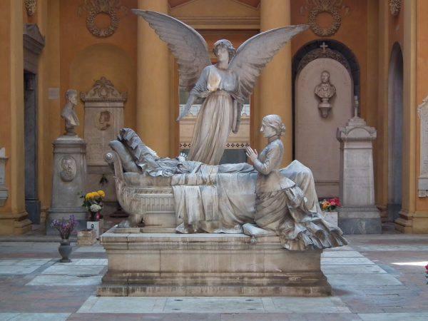 Cimitero Monumentale della Certosa di Bologna (Mattis, CC BY-SA 4.0, Wikipedia)