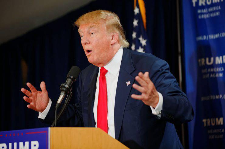Donald Trump (Michael Vadon, CC BY-SA 4.0, Wikicommons)