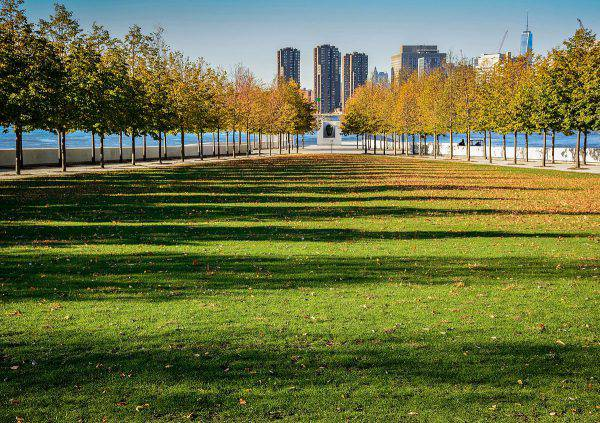 Franklin D. Roosevelt Four Freedoms Park, Roosvelt Island, New York (Kenlarry, CC BY-SA 4.0, Wikiconmons)