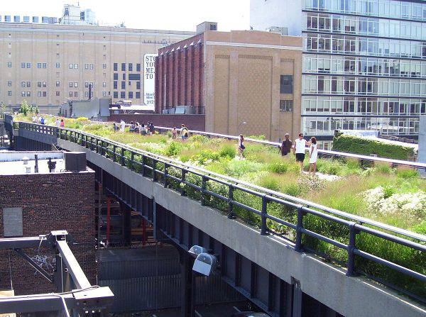 High Line, New York (Beyond My Ken, GFDL, Wikipedia)