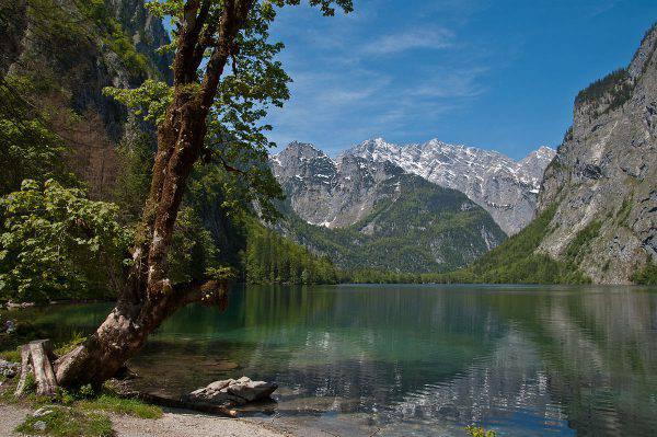 Obresee, Konigsee, Baviera (Alupus, CC BY-SA 3.0, Wikipedia)