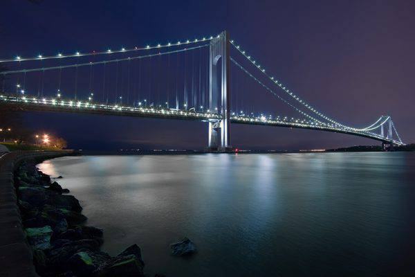 Ponte di Verrazzano da Brooklyn, New York (Rian Castillo, Flickr, CC BY 2.0, Wikicommons)