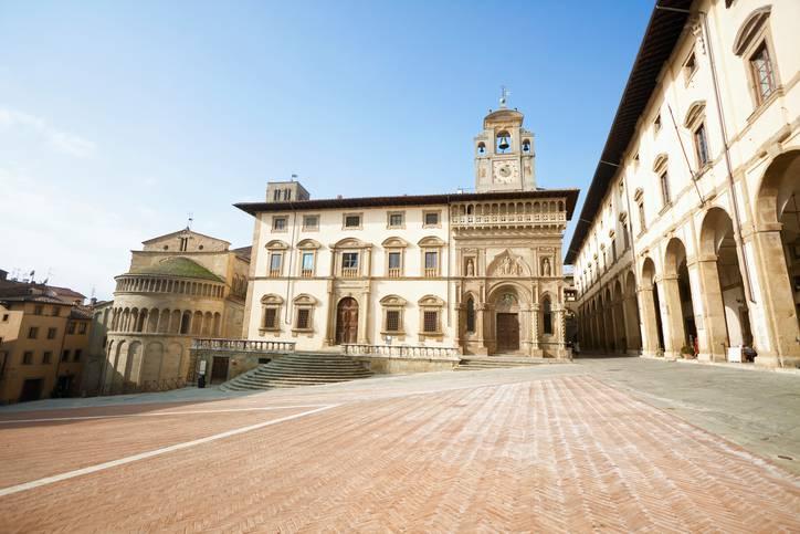 Arezzo, Piazza Grande (iStock)