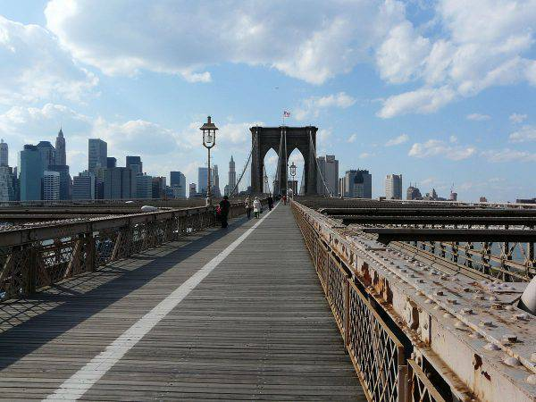 Ponte di Brooklyn, New York (Wikicommons)