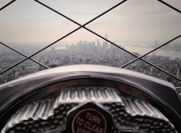 Vista di New York dall'Empire State Building (Björn Simon, Wikicommons)
