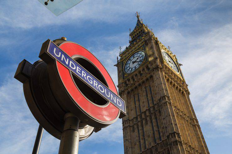 Big Ben Londra tube