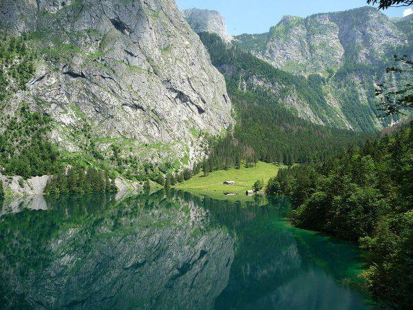 Obresee, Konigsee, Baviera (Jacques Kohler, CC BY 3.0, Wikipedia)