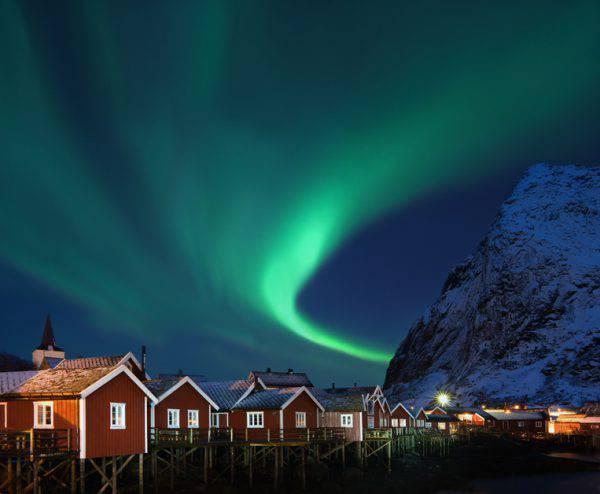 Isole Lofoten, Norvegia, inverno (iStock)