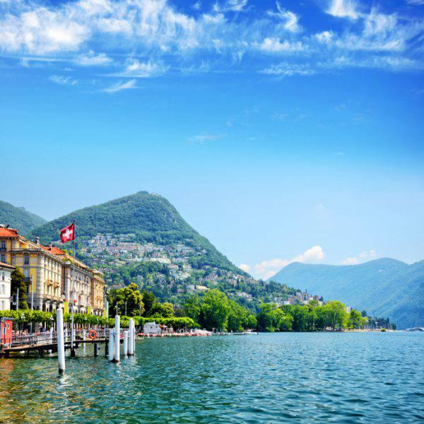 Lago di Lugano, Canton Ticino (iStock)