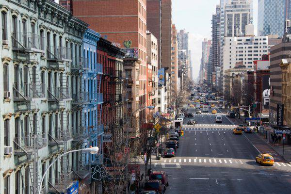 Manhattan: la First Avenue vista dal Queensboro Bridge (iStick)