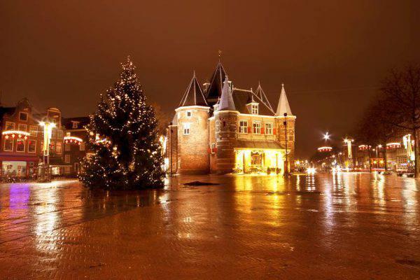 Natale ad Amsterdam, Nieuwmarkt (iStock)