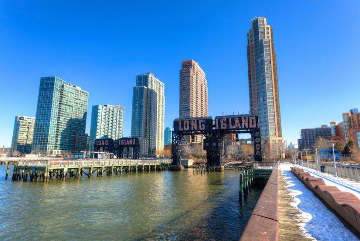 Il quartiere di Long Island City nel Queens di New York (iStock)