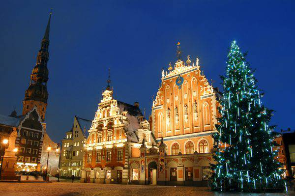 Riga, Lettonia, a Natale (iStock)