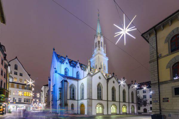 San Gallo, chiesa di San Lorenzo a Natale (iStock)