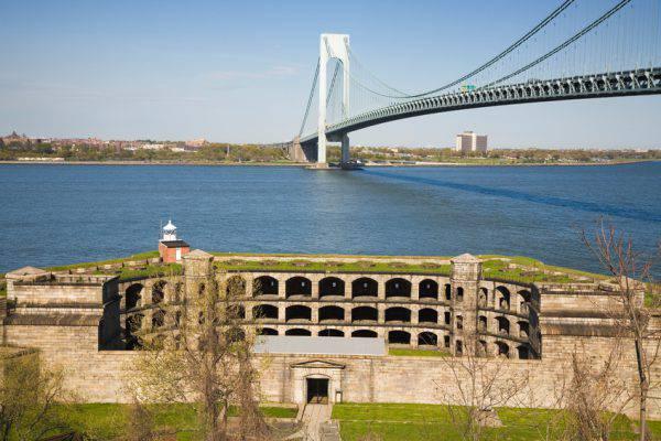 Staten Island: Fort Wadsworth e ponte di Verrazzano (iStock)