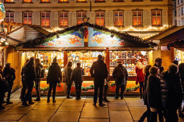 Mercatino di Natale di Strasburgo (iStock)