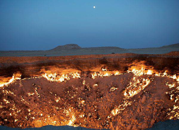 Porta dell'Inferno, Turkmenistan (iStock)