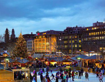 Mercatino di Natale a Zurigo (iStock)