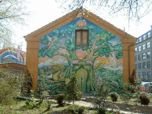 Christiania, Copenaghen (Quistnix, CC BY 1.0, Wikipedia)