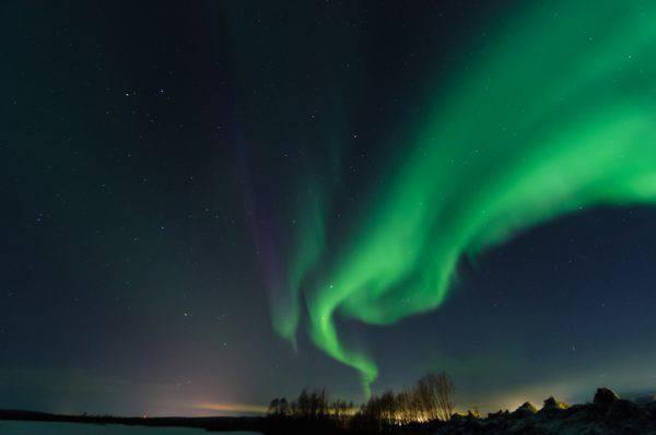 Aurora Boreale a Murmansk, Penisola di Kola, Russia (iStock)