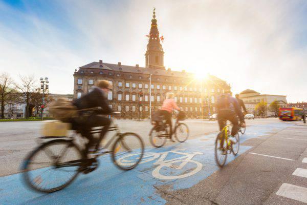 Copenaghen in bici (iStock)