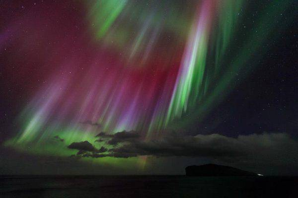 Aurora boreale Isole Fær Øer (Visit Faroe Islands, Facebook)