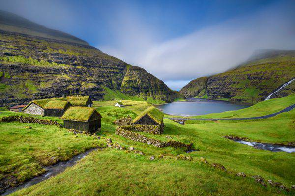 Saksun, Isole Faroe, Danimarca (iStock)