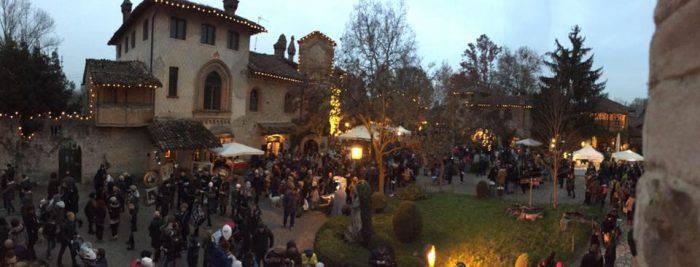 Natale a Grazzano Visconti (Pagina Facebook)