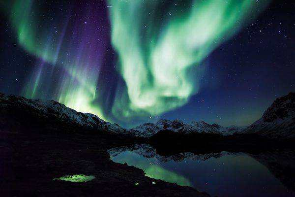 Aurora boreale in Groenlandia (Greenland Travel, Flickr, CC BY 2.0)