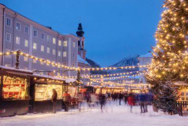 Mercatino di Natale a Salisburgo (iStock)